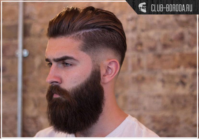 Прически под бороду – как подобрать модную стрижку
