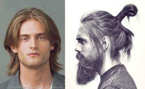 Стрижки с длинными волосами мужские фото