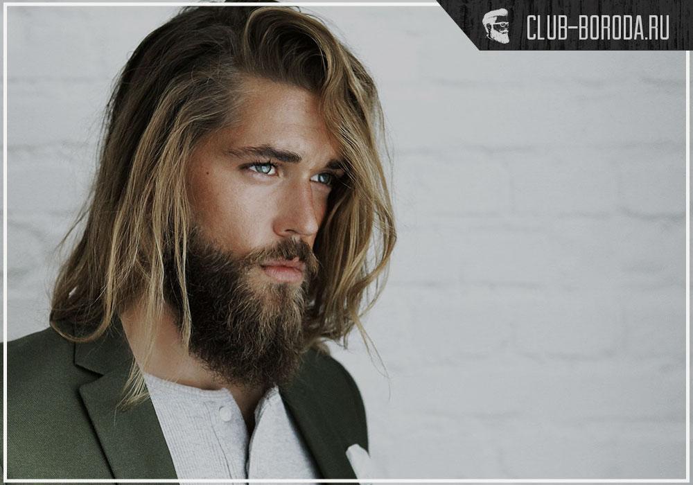 Видео стрижка на длинные волосы мужская