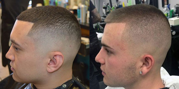стрижки на короткие волосы мужские фото полубокс