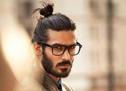 мужская прическа гранж стиль с длинными волосами фото