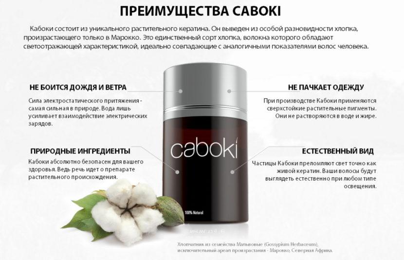 Загуститель Caboki — уникальное средство для волос